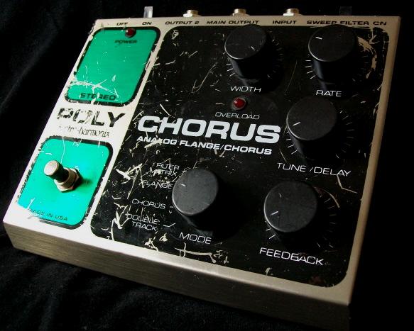 Electro Harmonix Poly Chorus Flanger Chorus Guitar