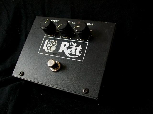 proco vintage rat  u2013 classic distortion pedal